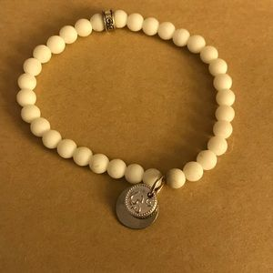 Jewelry - CFC bracelet in white and silver